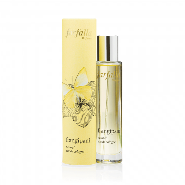Natural Eau de Cologne Frangipani, 50ml