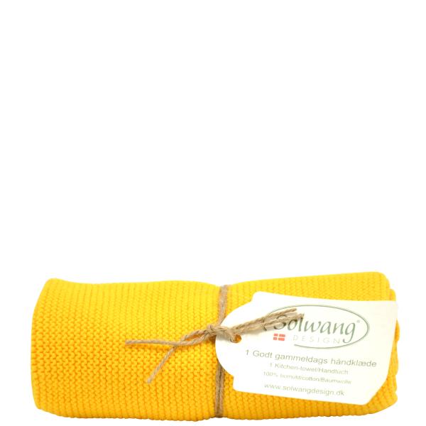 Kuechenhandtuch-Dunkel-Gelb