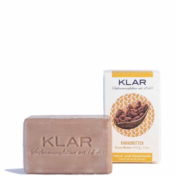 Savon au beurre de cacao (sans huile de palme) 100g