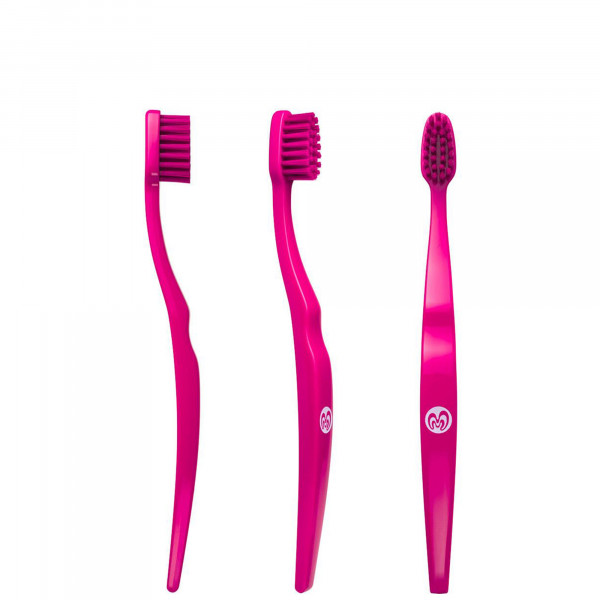 Brosse à dents pour enfants rose