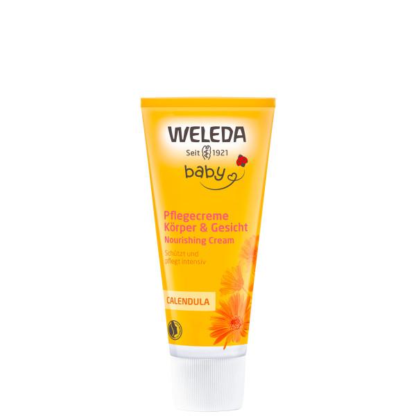 Crème protectrice visage au calendula bébé 50 ml