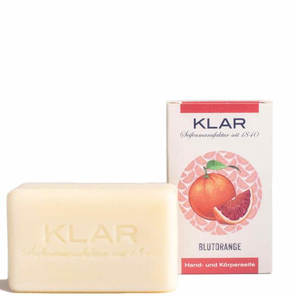 Savon à l'orange sanguine (sans huile de palme) 100g