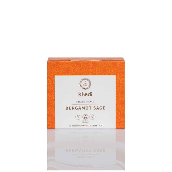 SAVON SHANTI Bergamote Sauge, 100g