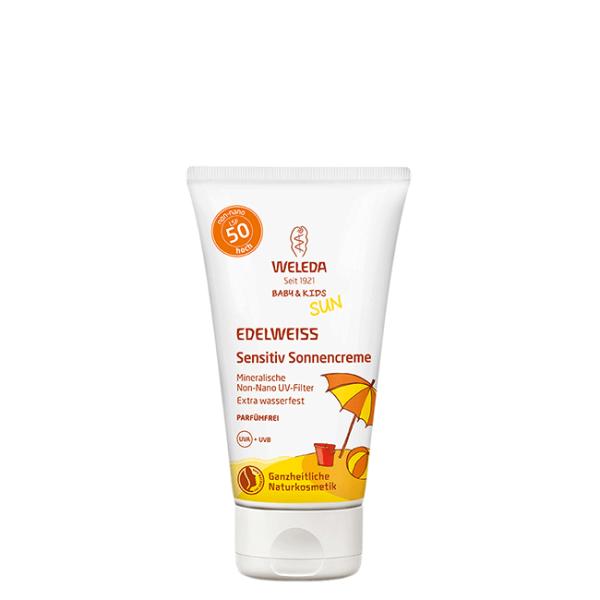 Edelweiss-Kinder-Sonnencreme-LSF-50-50-ml
