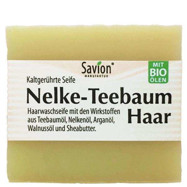 Haarseife-Nelke-Teebaum-85g