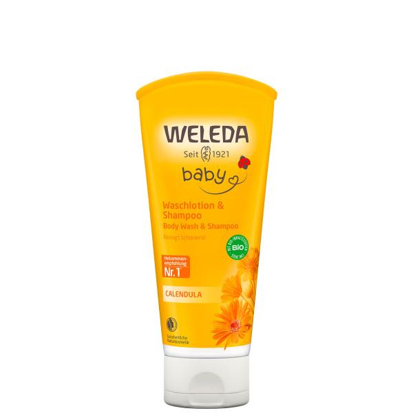 Crème lavante bébé corps/cheveux 200 ml