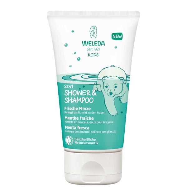 KIDS-Shower-Shampoo-Frische-Minze-150ml