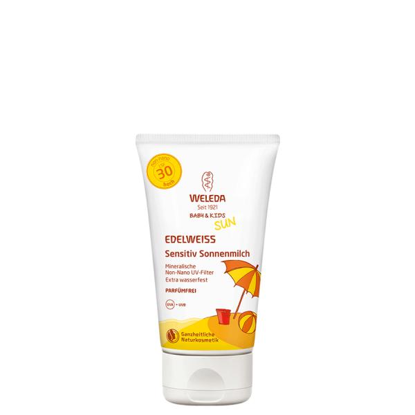 Edelweiss-Kinder-Sonnenmilch-LSF-30-150-ml