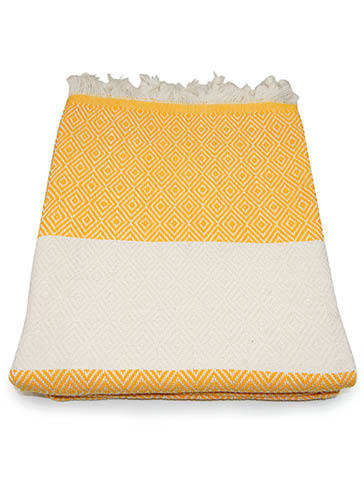 Hamam - Bath towel Diamond Yellow