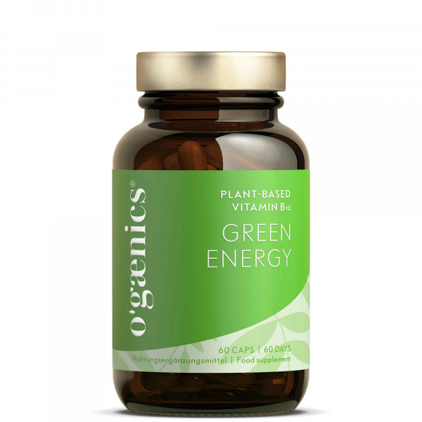 GREEN ENERGY Plant Based Vitamin B12 BIO, 60 Capsules