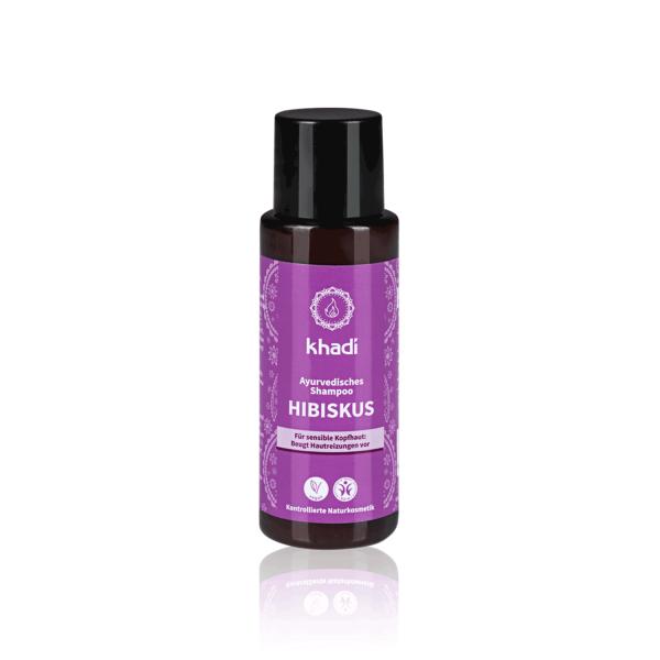 Shampooing ayurvédique hibiscus cuir chevelu sensible – 30ml