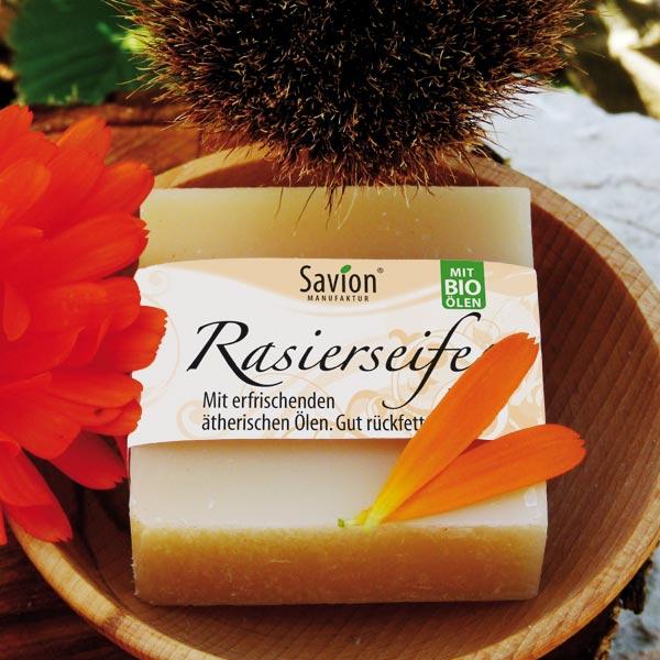 Rasierseife-Olive-Shea-50-g