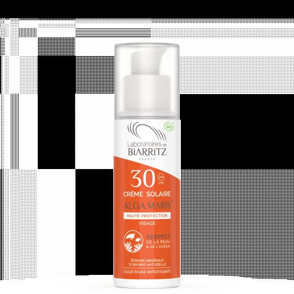 Crème solaire visage SPF 30 , 50 ml