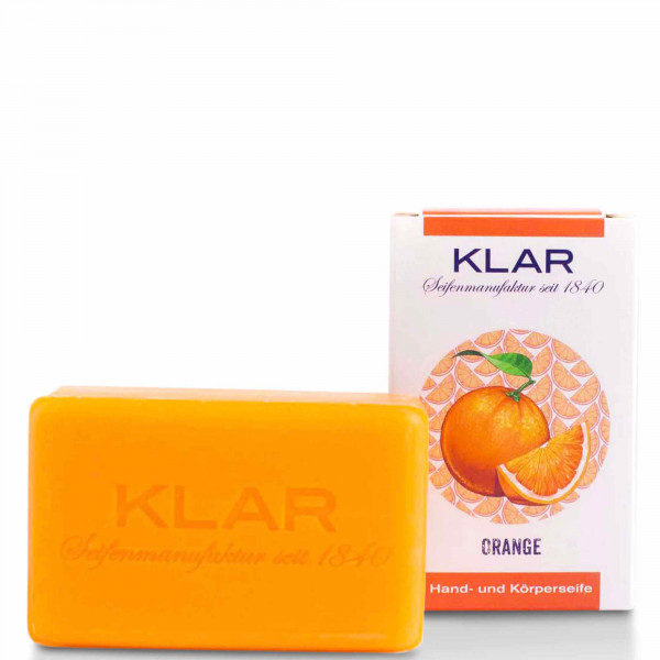 Orange Soap (palm oil free) 100g