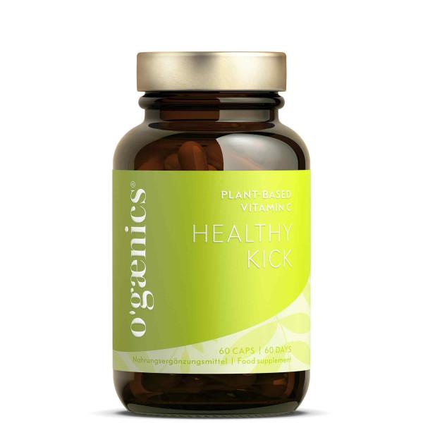 HEALTHY KICK Plant-based Vitamin C BIO, 60 Kapseln
