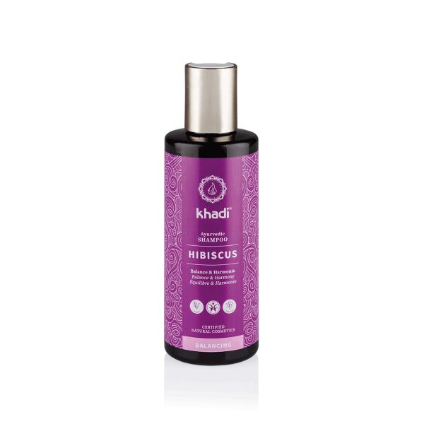 Shampooing ayurvédique hibiscus cuir chevelu sensible – 210ml