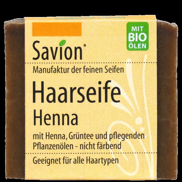 Haarseife-Henna-85g