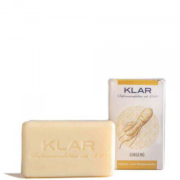 Ginseng Soap (palm oil free) 100g