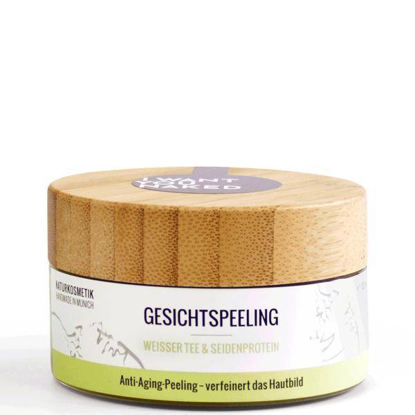 Gesichtspeeling-Weisser-Tee-Seidenprotein-100ml