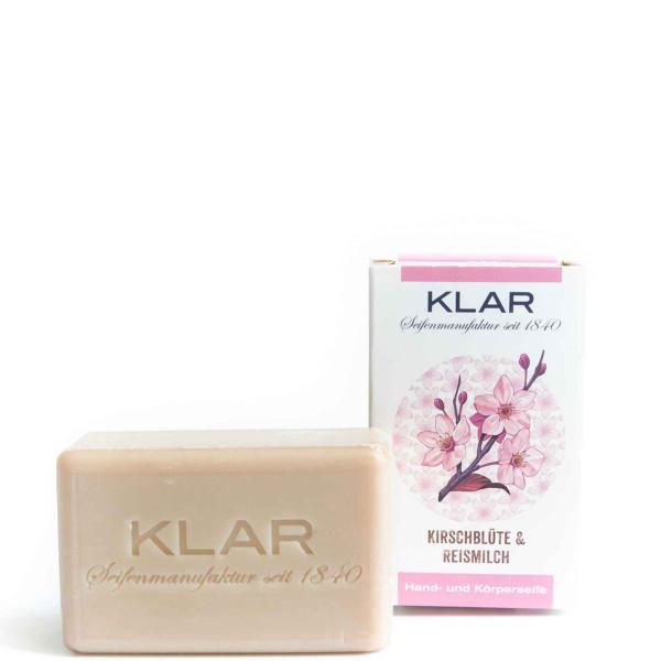 Cherry Blossom & Rice Milk Soap (palm oil free) 100g