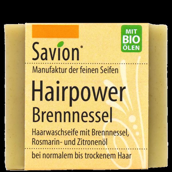 Haarseife-Hairpower-Brennessel-85g
